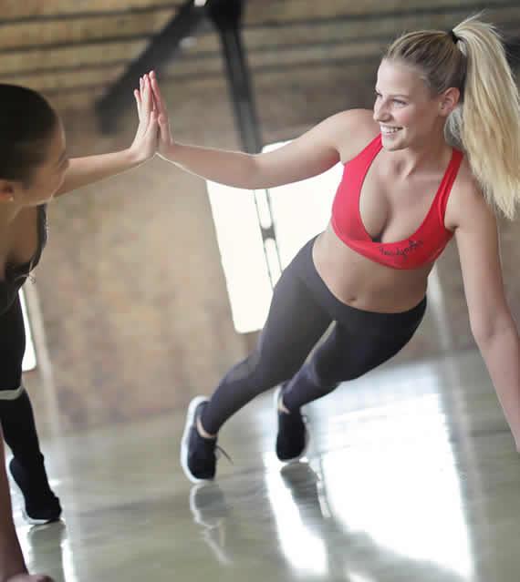 Osobní a skupinové tréninky
